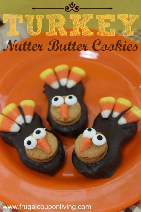 Cute Thanksgiving cookies ideas kids love