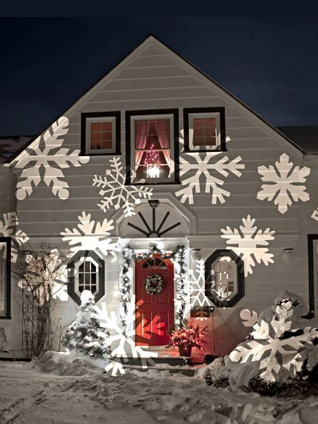 Outdoor Christmas Lighting Projectors Gorgeous Ideas For Lights Projected On Your House Easy Peasy