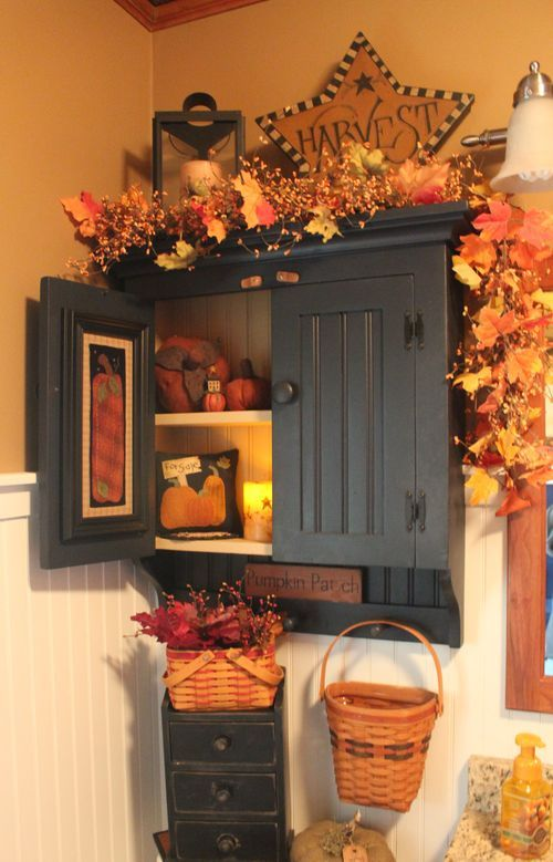 Fall bathroom decorating ideas