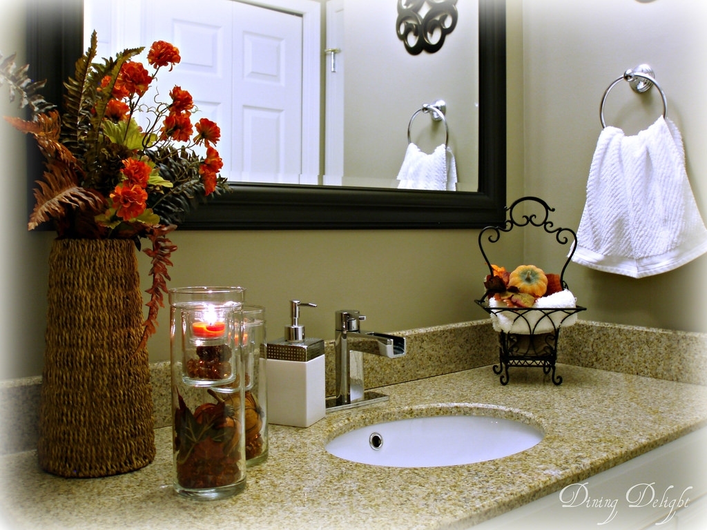 Fall Bathroom Decorating Ideas Amp Diy Fall Bathroom Decor