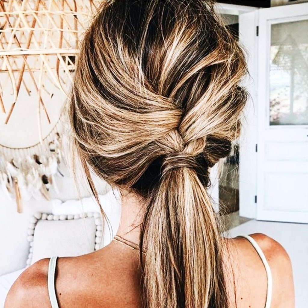 Ponytail ideas for long hair - very pretty ponytail hairstyles