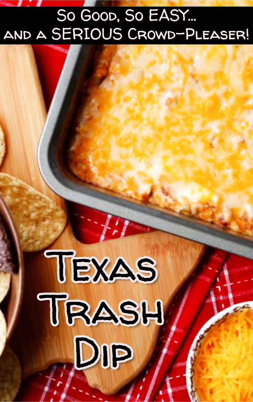 Easy Party Etizer Recipes That Are Crowd Pleasers This Texas Trash Dip Recipe Is