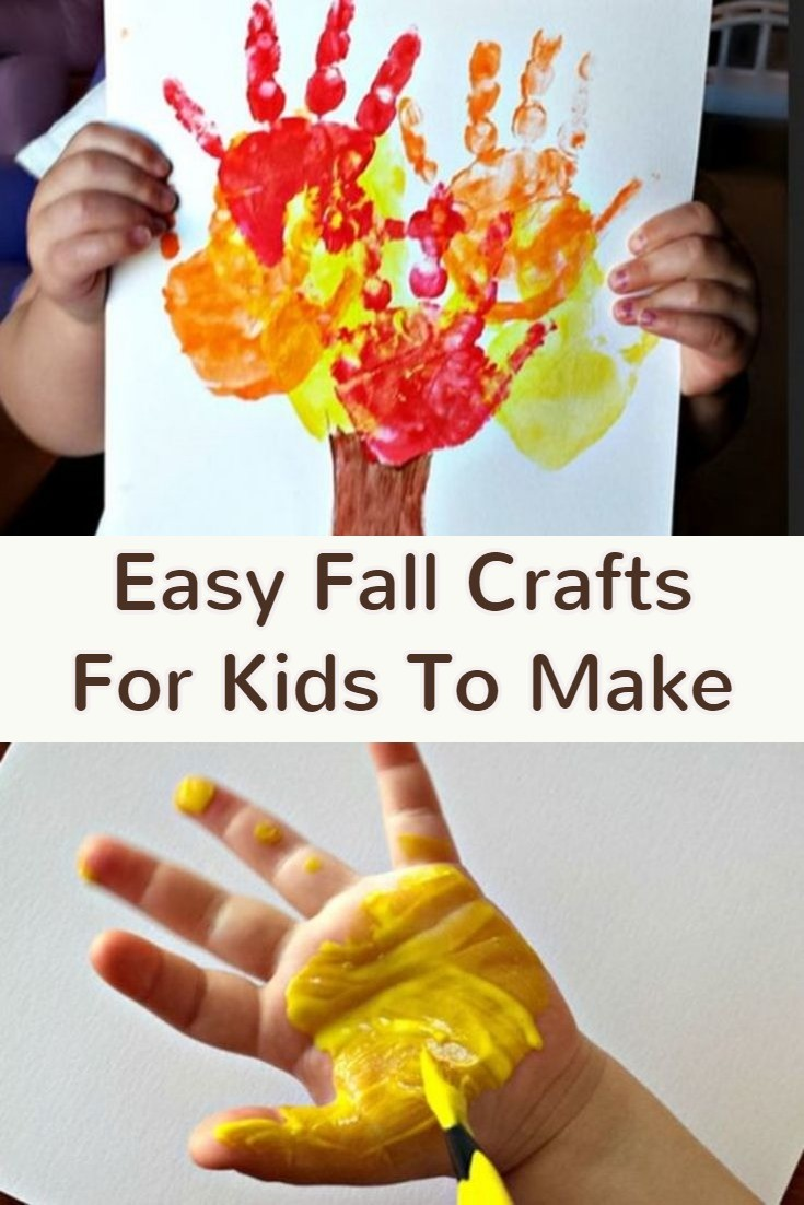 Craft Ideas For Kids At Home Part - 32: Fun U0026 Easy Fall Crafts For Kids U0026 Toddlers.