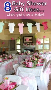 8 Unique and Affordable Baby Shower Gift Ideas for those on a budget but want to give an AWESOME gift.