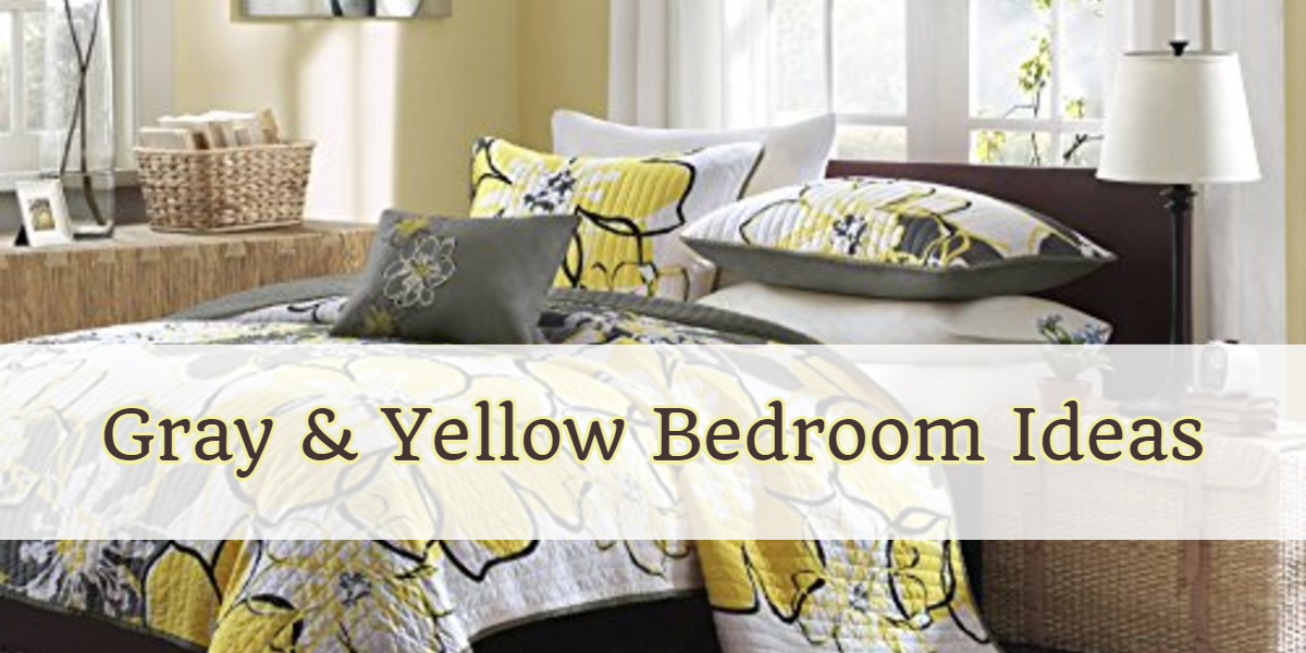 Gray and Yellow Bedroom Ideas, Bedding, Decor Pictures, DIY Ideas and more