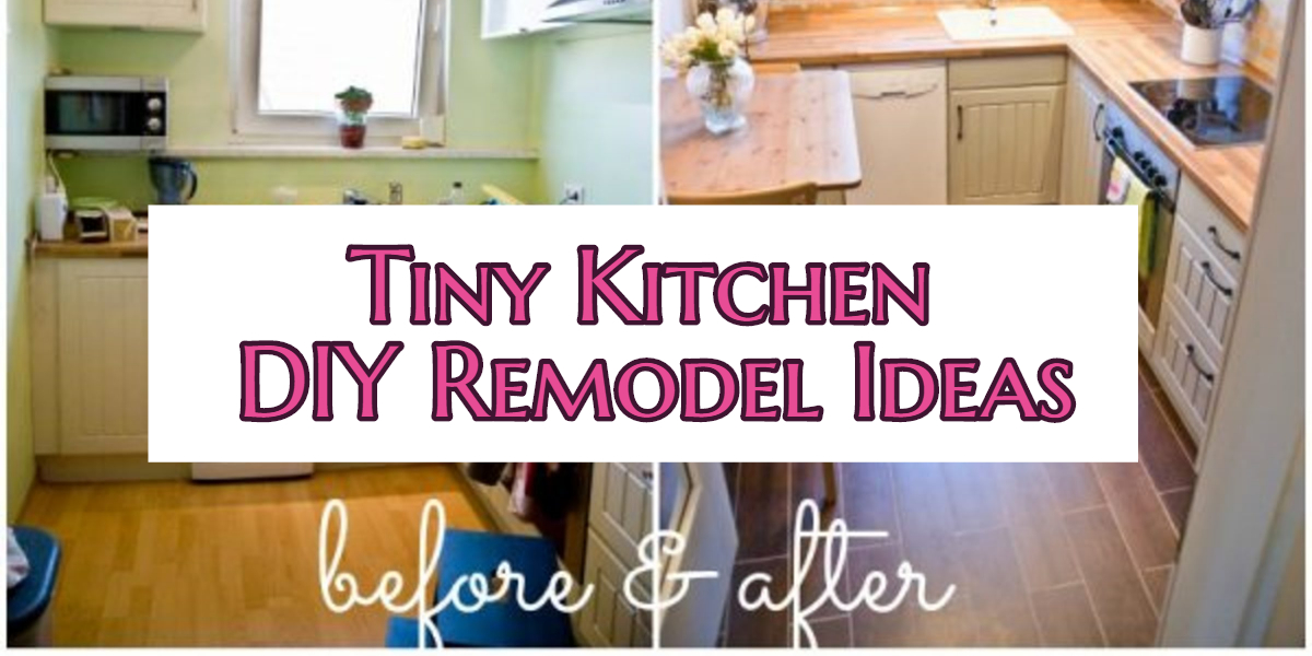 Small Kitchen Ideas Diy Tiny Remodel Results Before And After Great For
