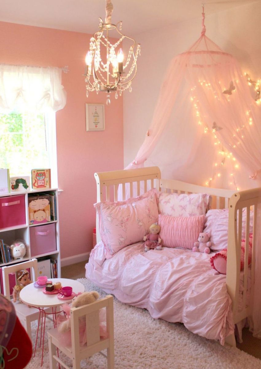 Little Girl's Bedroom Decorating Ideas and Adorable Girly ... on Girls Bedroom Ideas  id=80761