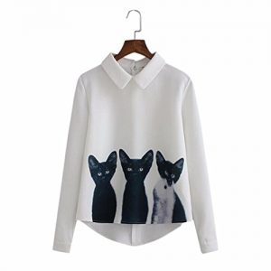super cute cat shirt