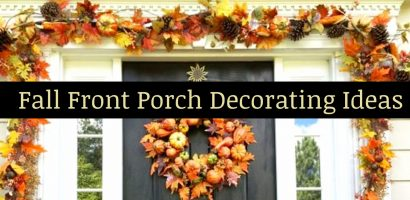 DIY Fall Decor Ideas for the Porch – Copy This Simple Fall Front Porch at Home