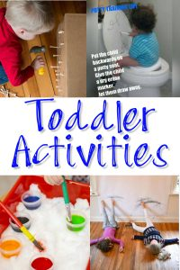 Indoor Activities for Toddlers and Little Kids - Fun Things for Kids to Do Indoors (tho YOU may note like them lol!)