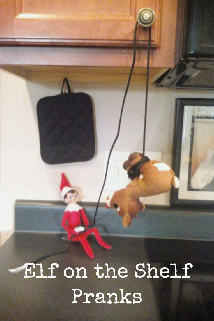 Elf on the Shelf Ideas - fun pranks and unique ideas for your Elf on the Shelf this Christmas Holiday season