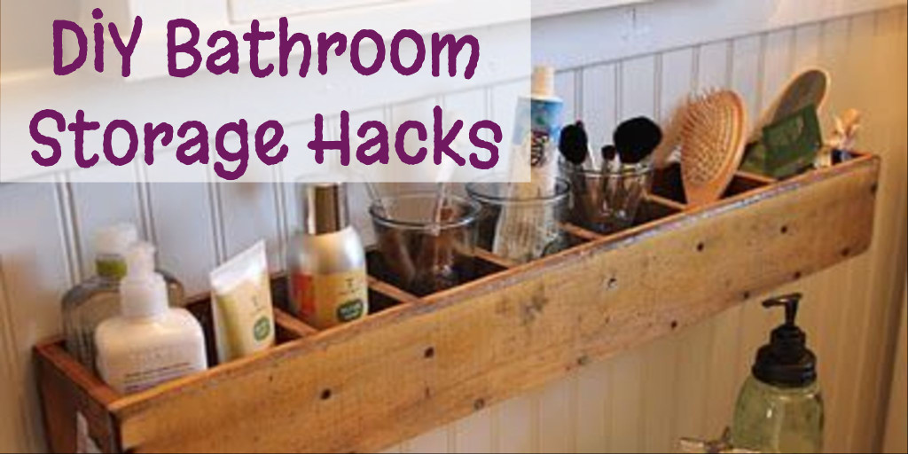 Diy Bathroom Storage And Organization Hacks Involvery