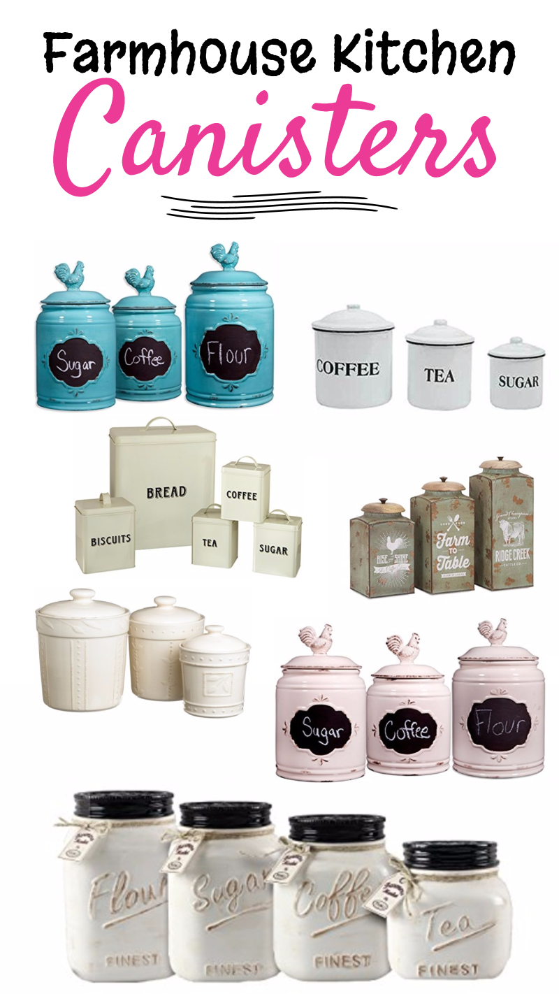 farmhouse kitchen canisters