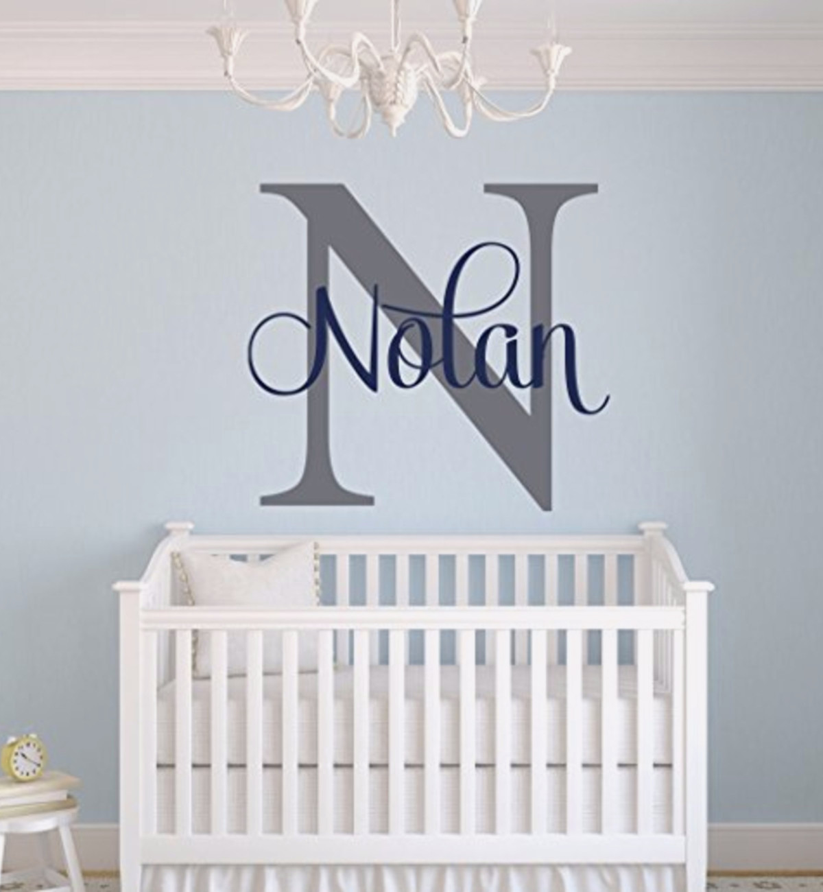 Baby boy nursery wall decor ideas best idea garden for Baby room wall decoration