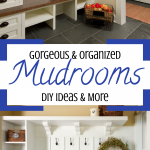 DIY Farmhouse Rustic Mudroom Decor Ideas We Love
