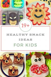 healthy snacks for kids & toddlers - creative, fun and easy healthy snacks (fruit snacks too)