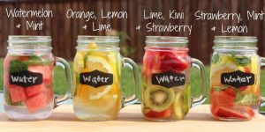 infused water recipes and fruit infused water benefits for weight loss and health. Many weight loss infused water recipes such as cucumber and orange infused water. There are many healthy water brands to buy but you can MAKE drinking water healthy by making your own healthy waters to drink