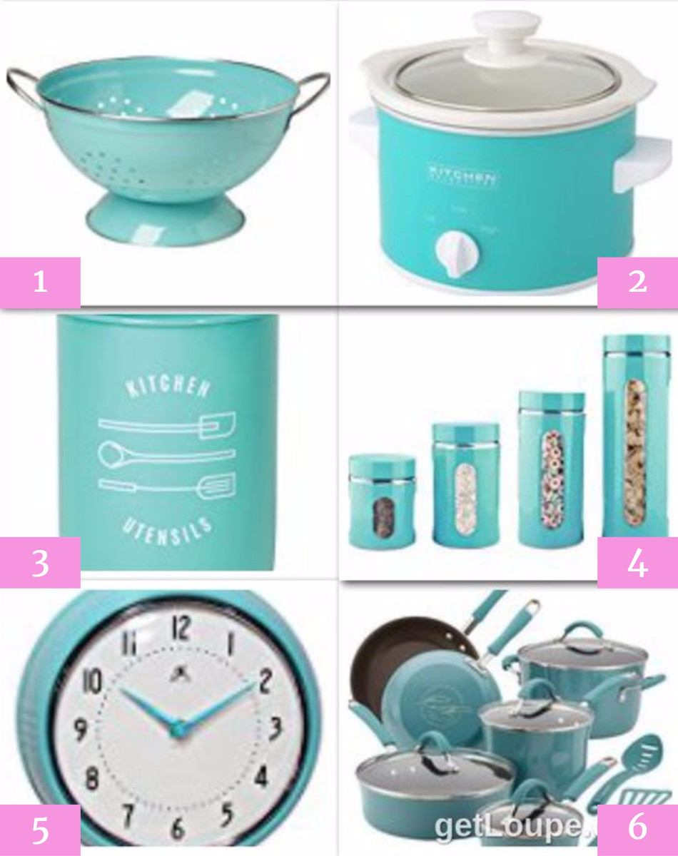 Tiffany Blue Kitchen Accessories That She Wants for her Wedding Shower / Bridal Shower