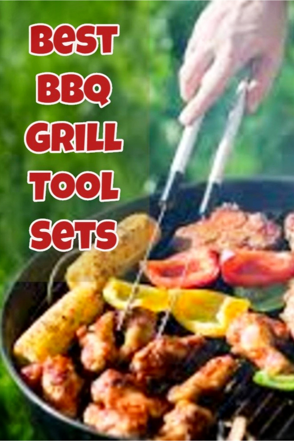 Best BBQ Tool Set and Utensil Sets - Makes a GREAT gift for him!