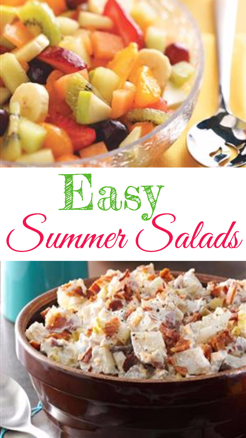 5 easy summer salads for a crowd summer salad recipes we for Easy salad ideas for bbq