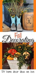 DIY Fall Decorating ideas for the home - DIY home decor - Fall decor - decorate your house for Fall ideas