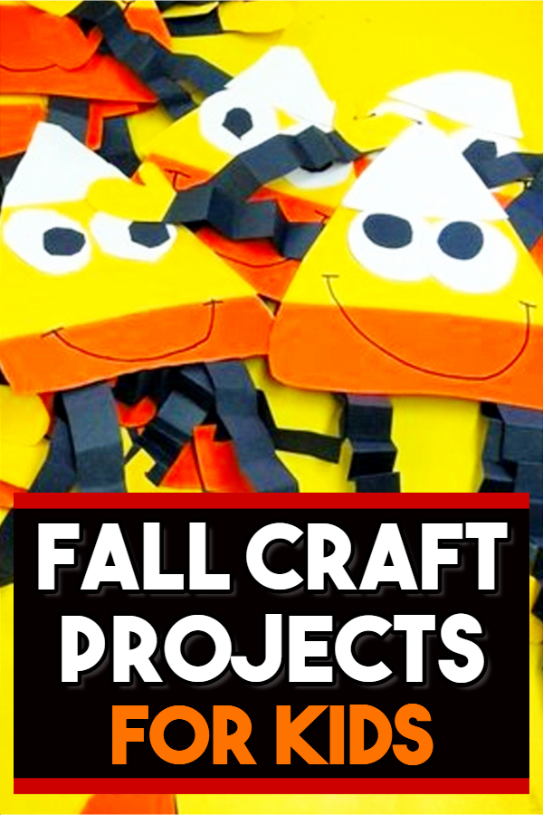 Fun and Easy Fall Crafts and Craft Projects for Kids to Make - Ideal for toddlers, Per-K, preschoolers, and young children