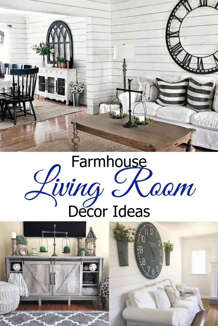 Farmhouse Living Rooms – Breathtaking and Beautiful Farmhouse Living Room Decor Ideas