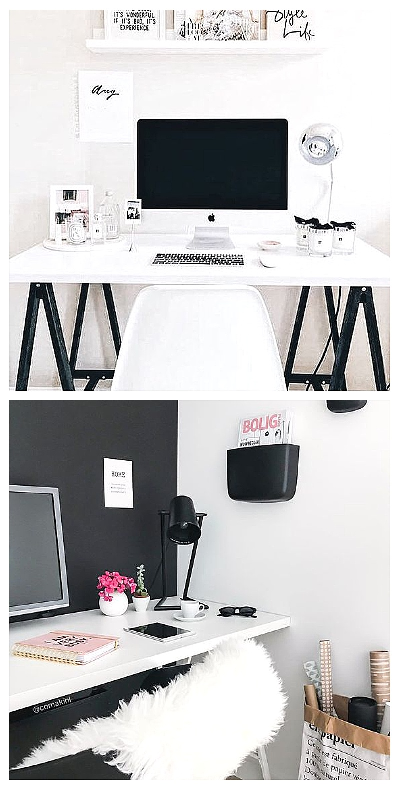 stunning home office ideas that will make you want to work from home involvery. Black Bedroom Furniture Sets. Home Design Ideas