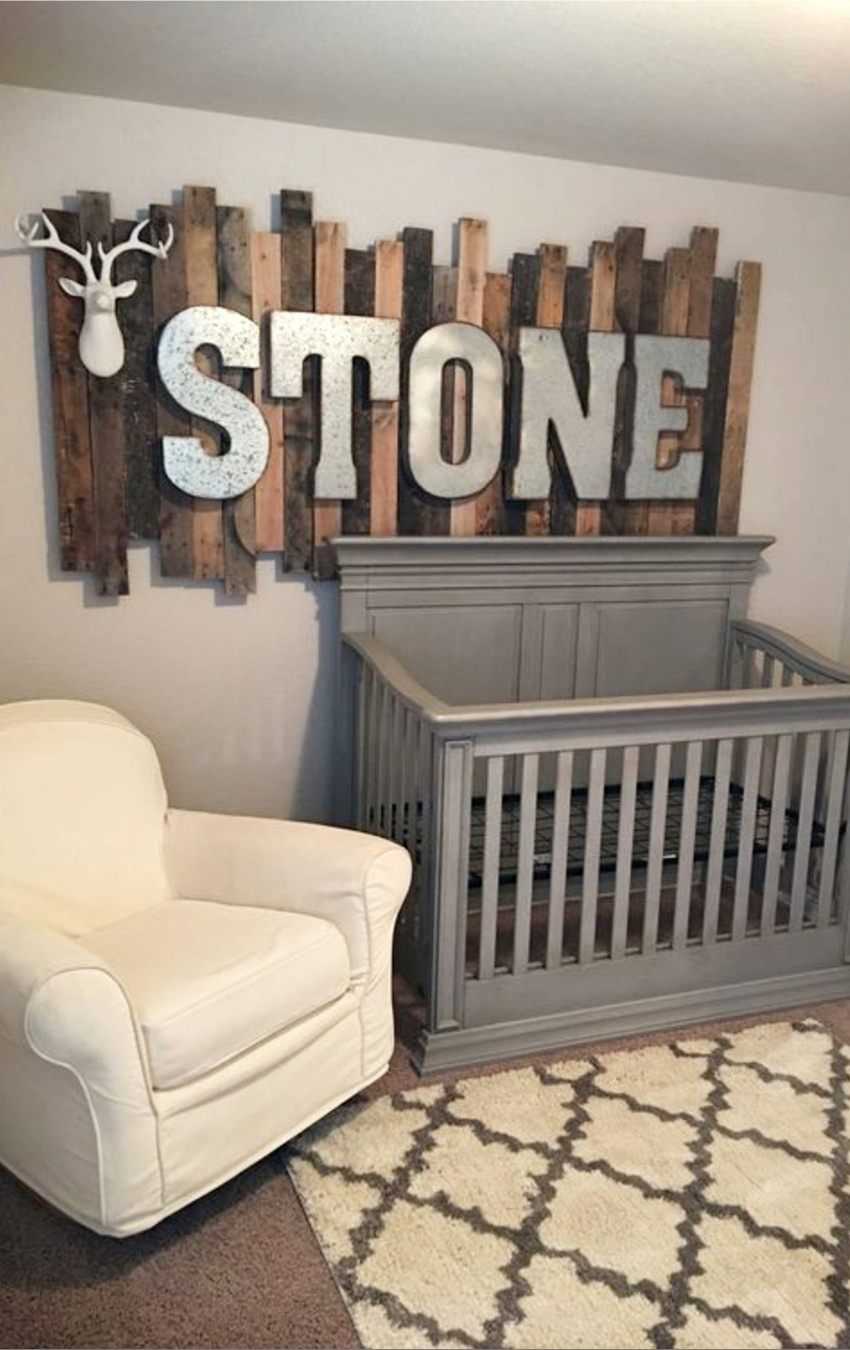 Nursery Ideas And Baby Room For Boy Rustic Super Cute