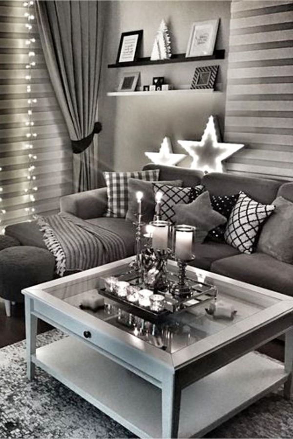 Neutral Living Room Ideas – Earthy Gray Living Rooms To Copy