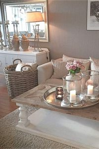Neutral earthy living rooms
