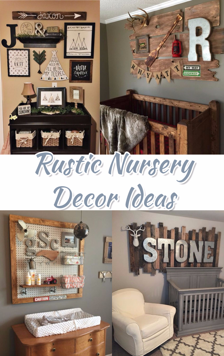 Baby Boy Nursery Themes Rustic Nurseries And Decor Ideas Nurseryideas Babyroomideas