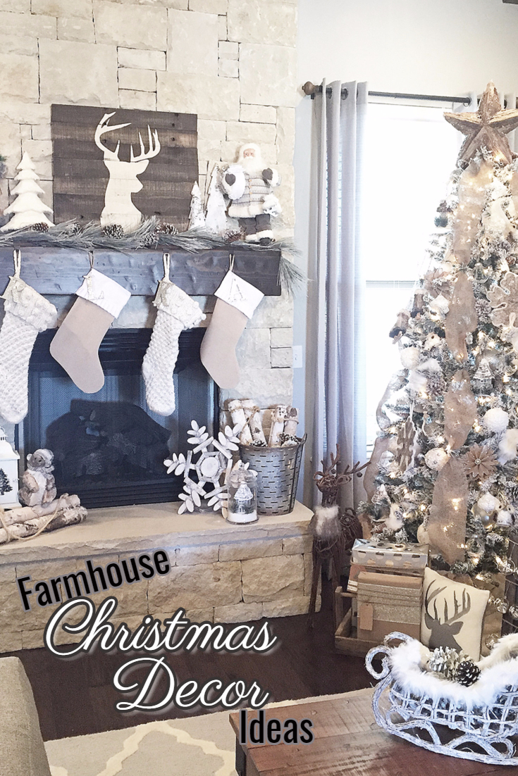 Farmhouse Christmas Decor Ideas For Your Home This Holiday