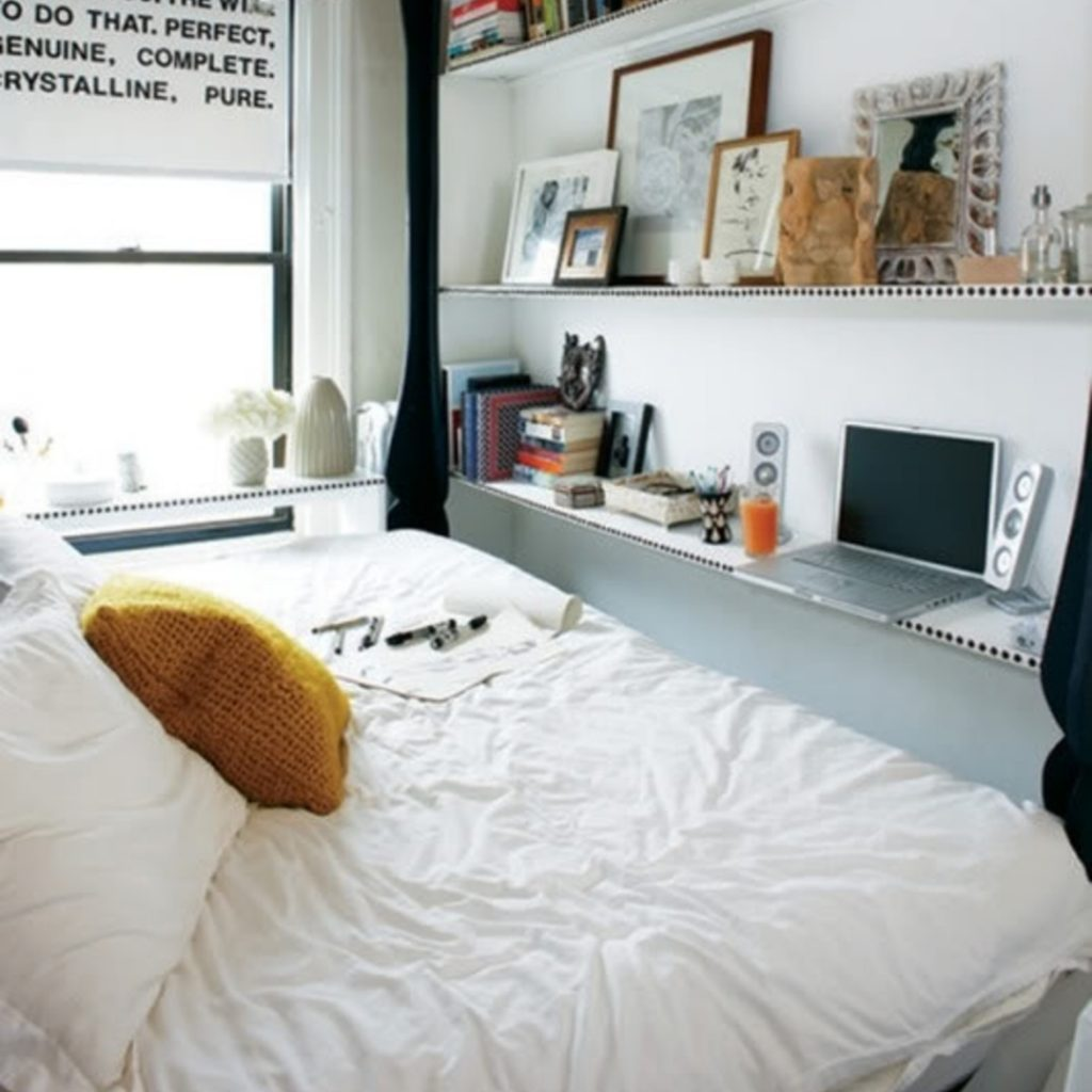 Home Ideas For Small Spaces: 38+ Creative Storage Solutions For Small Spaces (Awesome