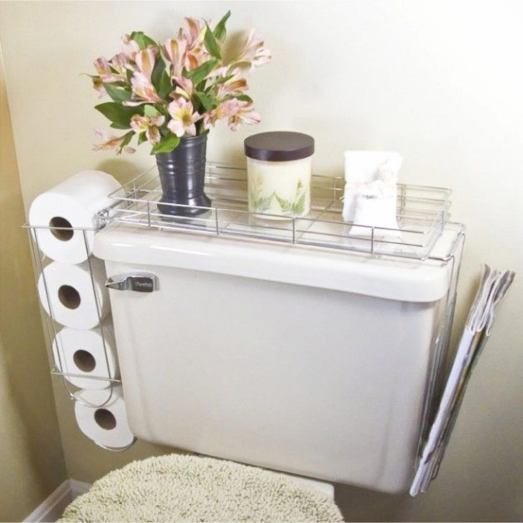 Small Space Storage Hacks - Creative DIY Storage Solutions for Small Spaces, Small Rooms, Small Houses, Apartments, Cottages and Condos.  Storage hacks and organization ideas to get more room for organizing clutter and other stuff