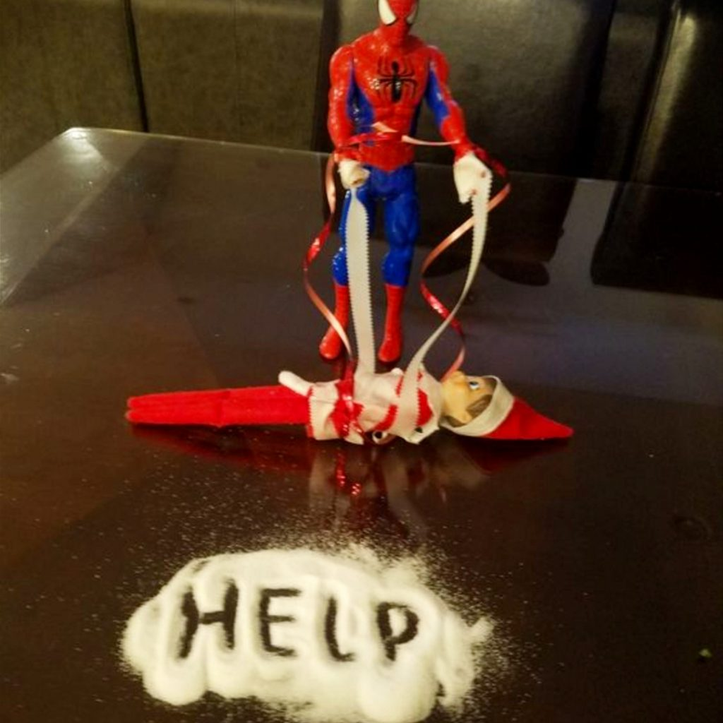 Elf on the Shelf idea for tonight