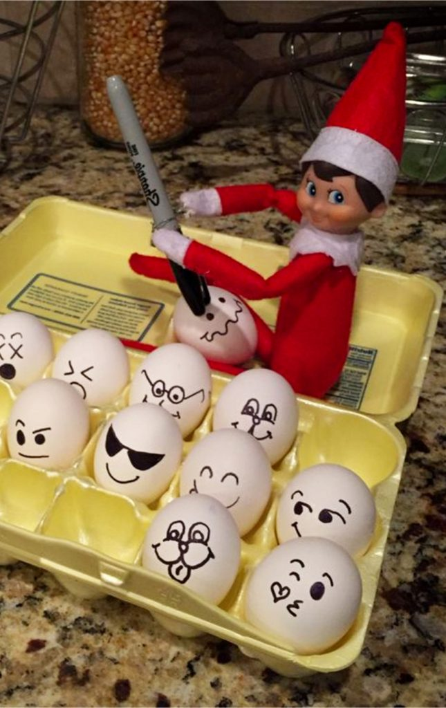 Easy Last Minute Elf on the Shelf Ideas