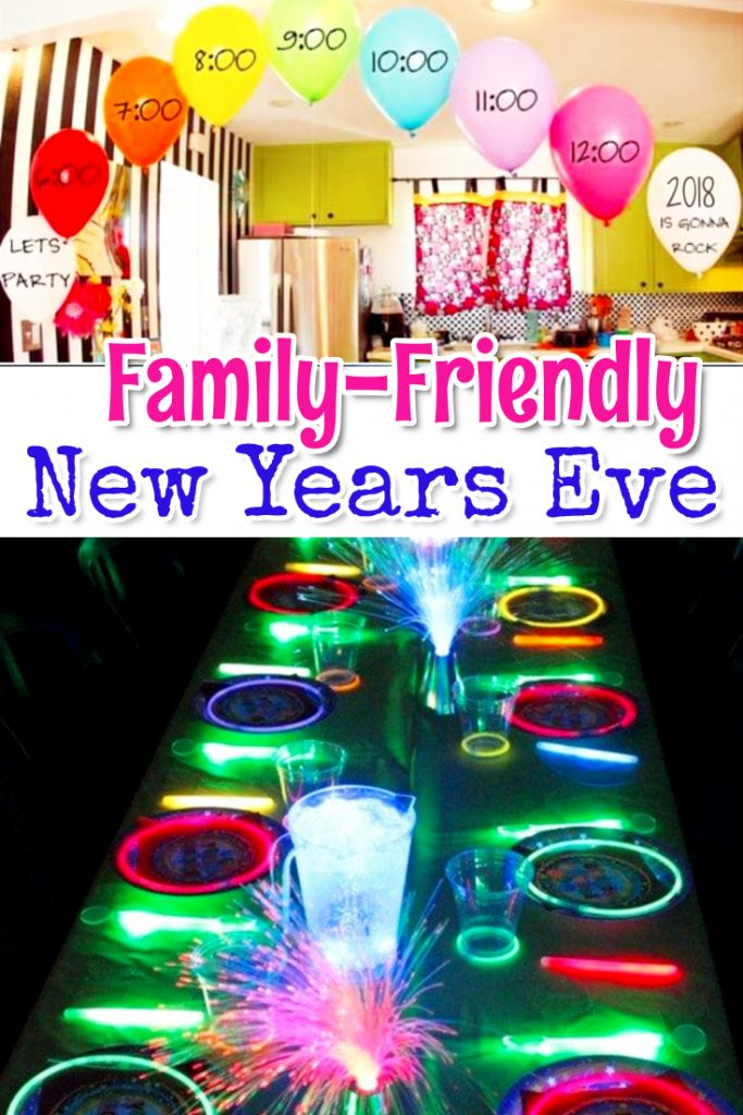 Family-Friendly New Years Eve Party Ideas - Clever DIY Ideas