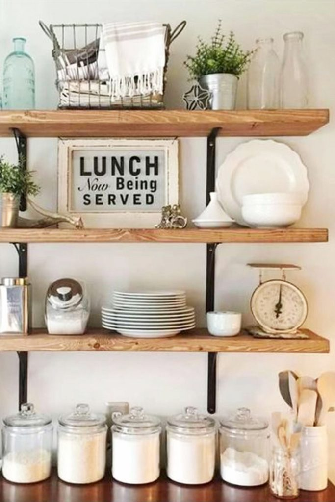 farmhouse kitchen ideas on a budget pictures for november. Black Bedroom Furniture Sets. Home Design Ideas