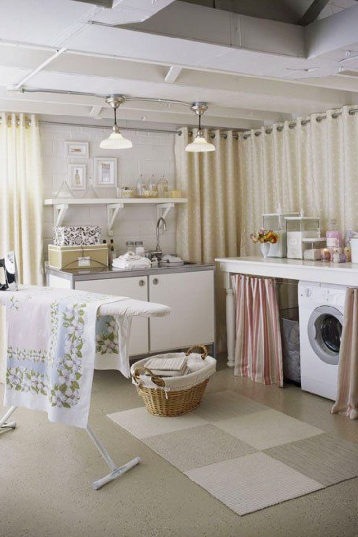 laundry nook ideas we love - easy diy ideas from involvery Laundry Area Ideas