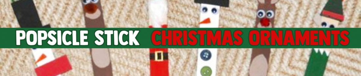 Popsicle Stick Christmas Crafts -See the DIY Holiday Ornaments Our Readers Made