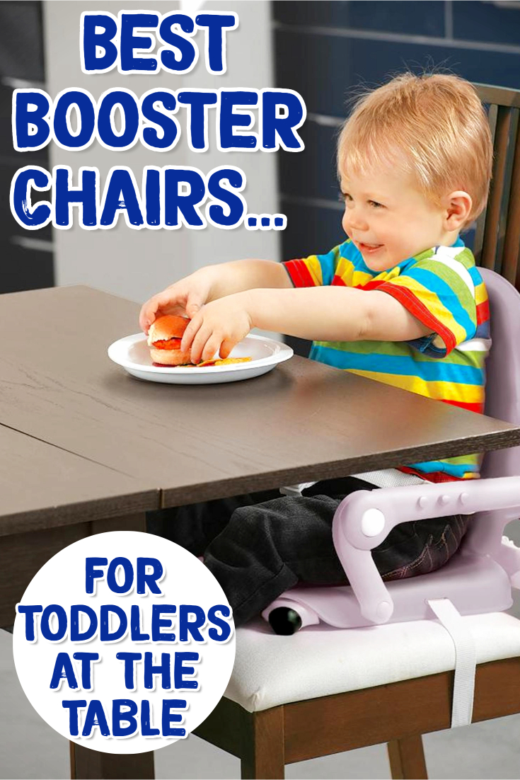 Booster Seats - Best Booster Chairs for Toddlers at the Table - at home OR on the go!