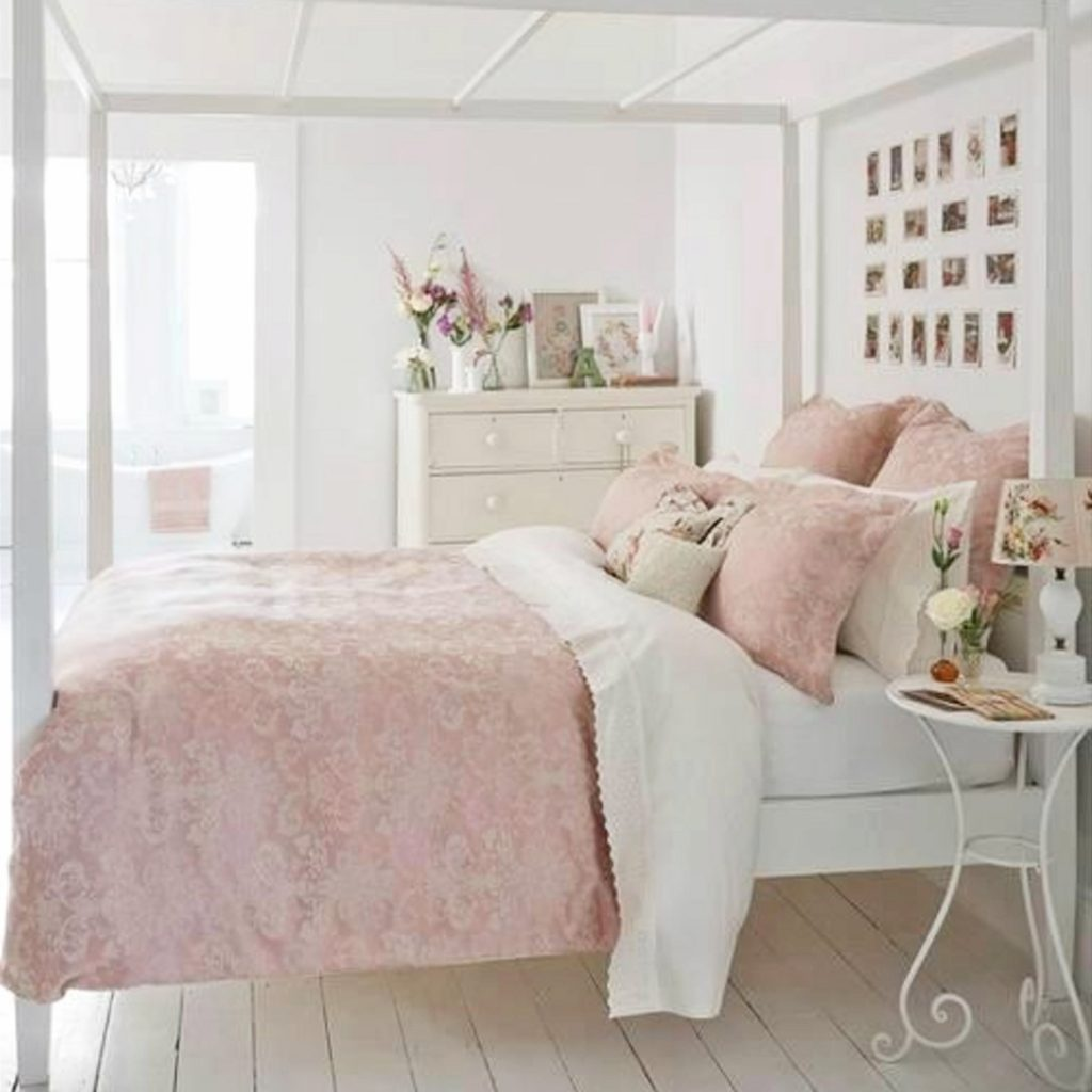 Girly Bedroom Accessories: Dusty Pink Bedrooms I Love