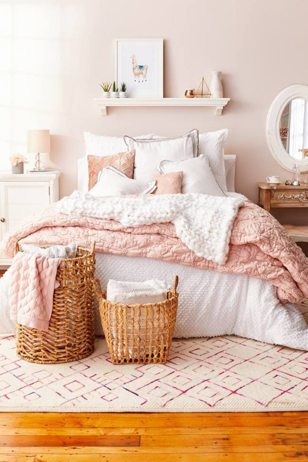 pale pink bedrooms blush pink bedroom ideas dusty pink bedrooms i 12785