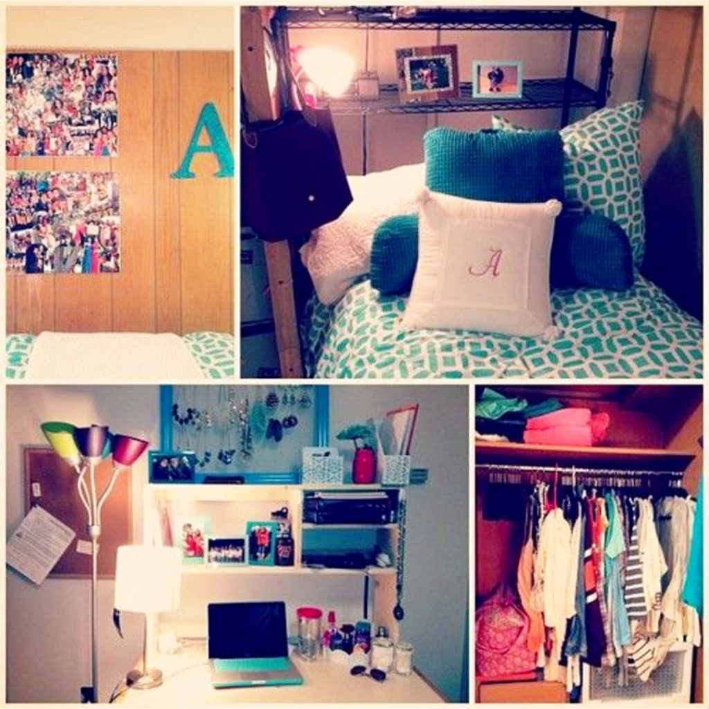 college dorm room hacks - DIY dorm room ideas #dormroomideas #gettingorganized #goals