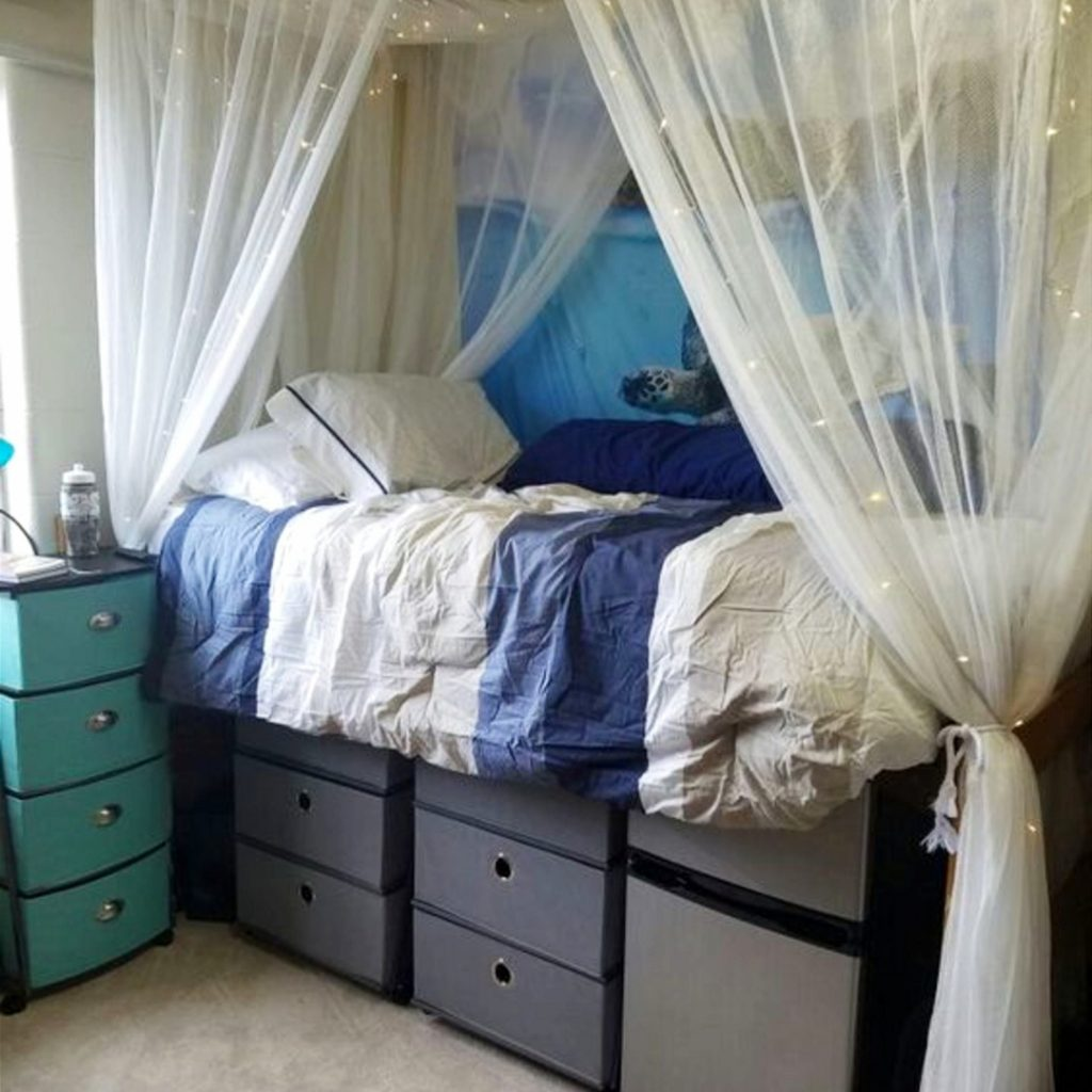 Diy dorm room ideas dorm decorating ideas pictures for 2019 - College dorm room ideas examples ...