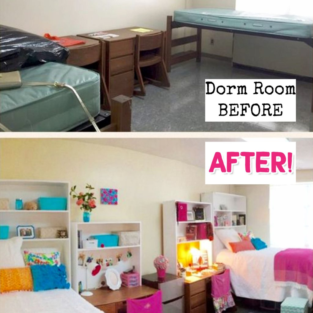 College Dorm Room Organizing: Dorm Decorating Ideas PICTURES For 2019