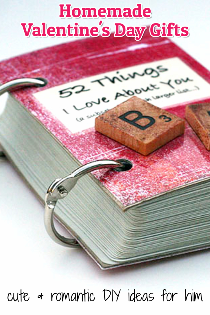 26 Homemade Valentine Gift Ideas For Him – DIY Gifts He Will Love