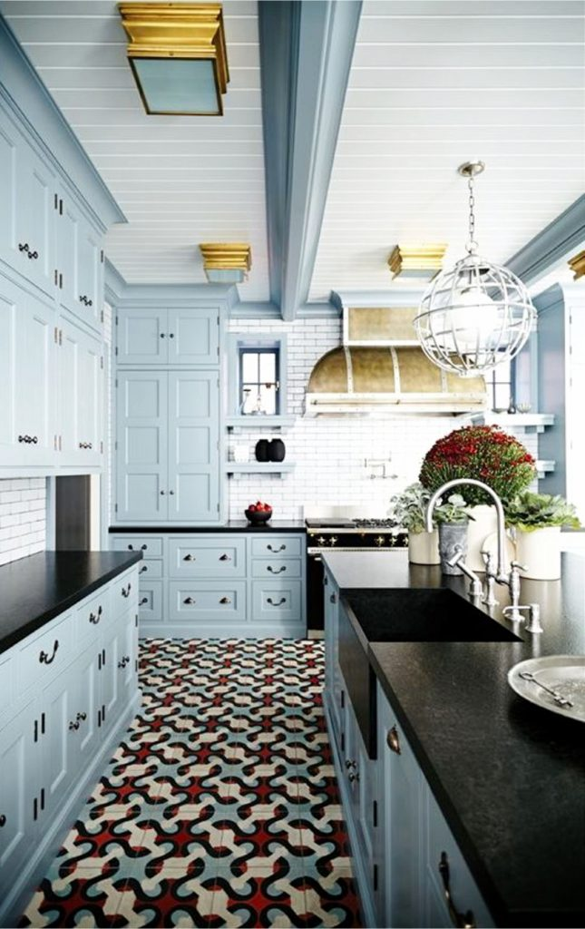 Painted Kitchen Cabinets! Cabinet paint colors, painted kitchen cabinets, kitchen cabinet color ideas and pictures