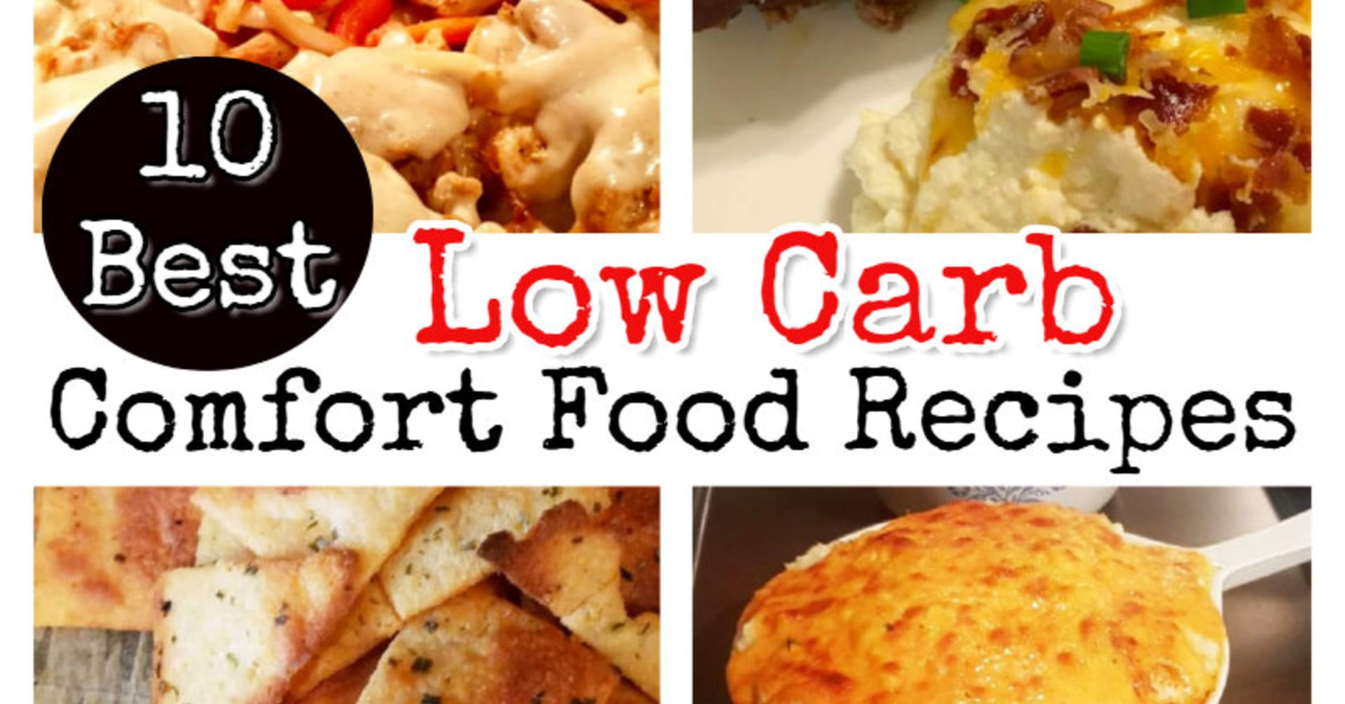 Low carb recipes - easy low carb comfort food recipes